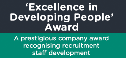 Excellence In Developing People Award