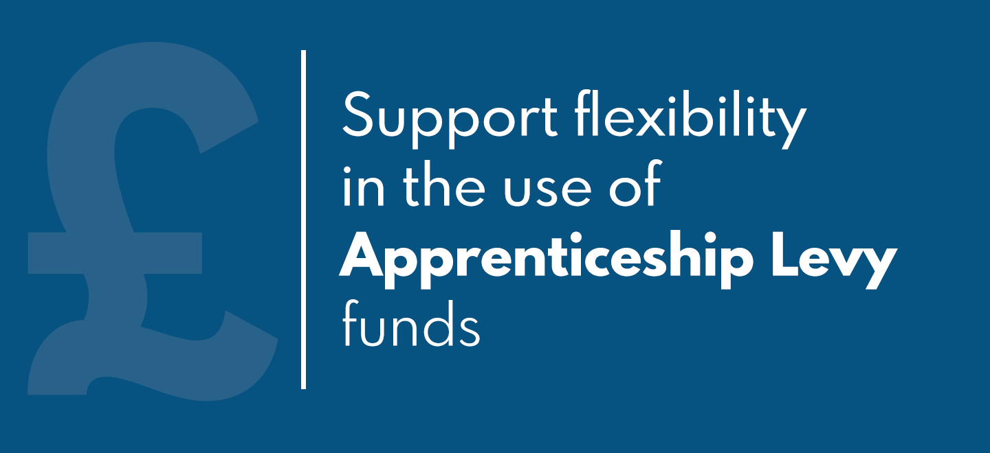 Use of Apprenticeship Levy funds should me more flexible